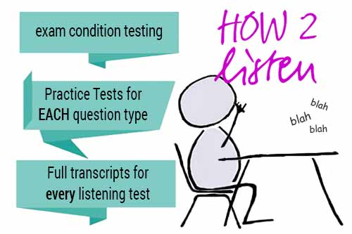 IELTS listening exam